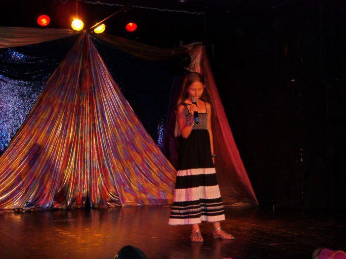 Sur scène , été 2007 , au Montenegro