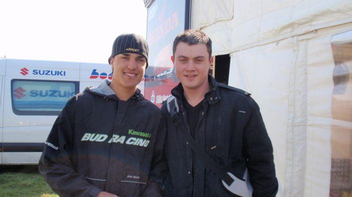 moi et Gautier a romagné 2009