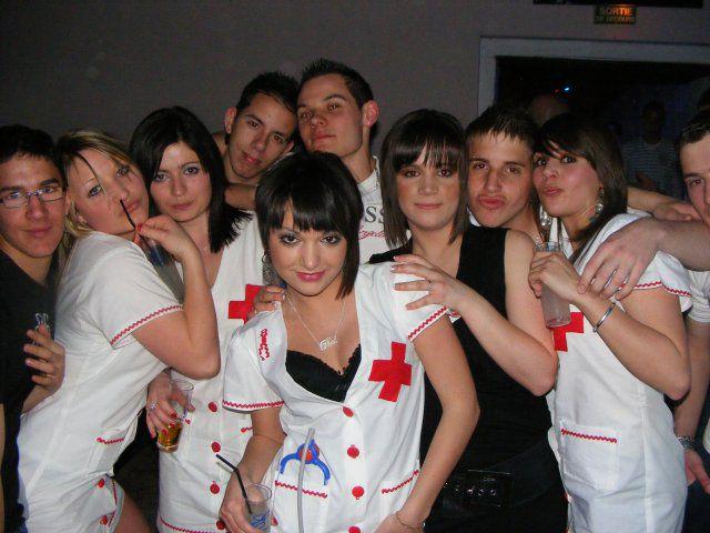 soirer infermiere a l'exca