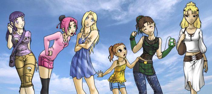 Naruto'Girls Powaa =D