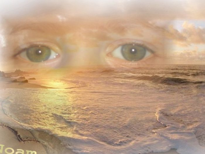 les bos yeux de mon bb Noam