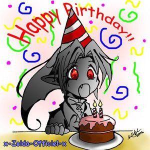 Joyeux anniversaire Link !