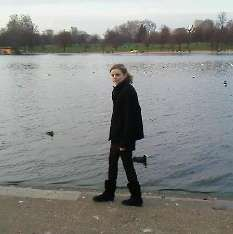 Moi a Hyde Park =)