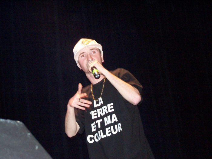 moi sur scène