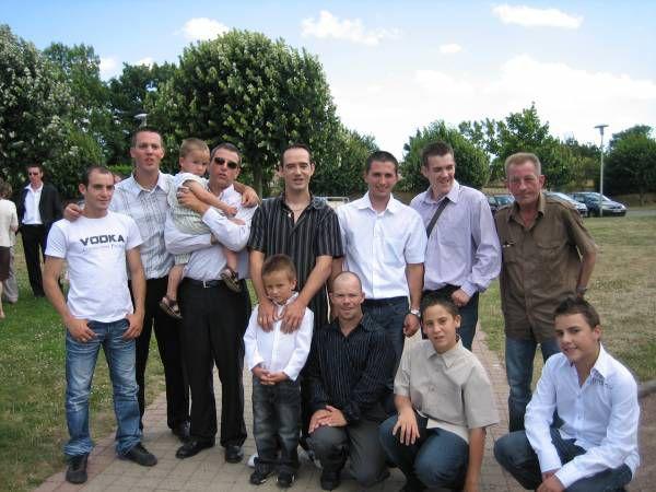 Les hommes de la famille