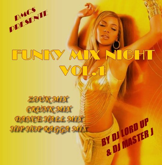 Funkymix Night Vol.1 Le CD