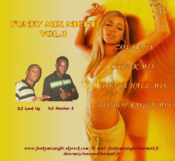 Funkymix Night Vol.1 Le CD