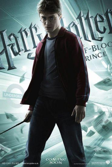 Harry Potter et le Prince de Sang-mélè (Poster Harry)