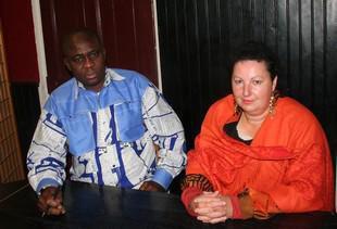 Monique JAROSO (Présidente) tshiam TSHIKAYA (Vice President)
