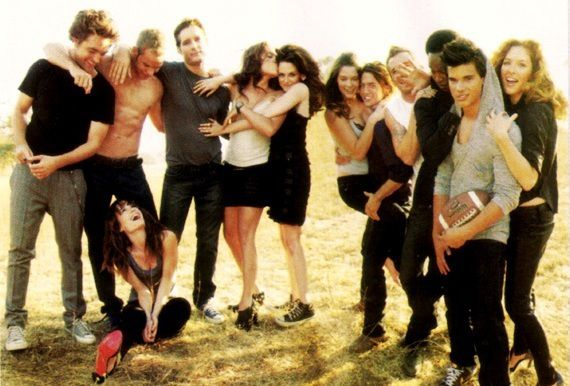 vanity fair...promo twilight