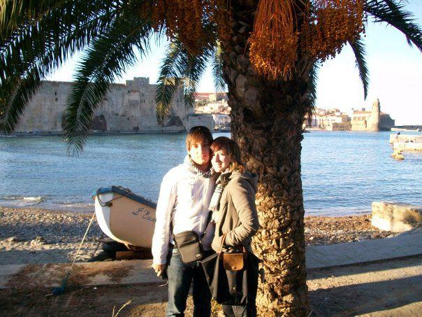 Mon b'bey et moi en Espagne