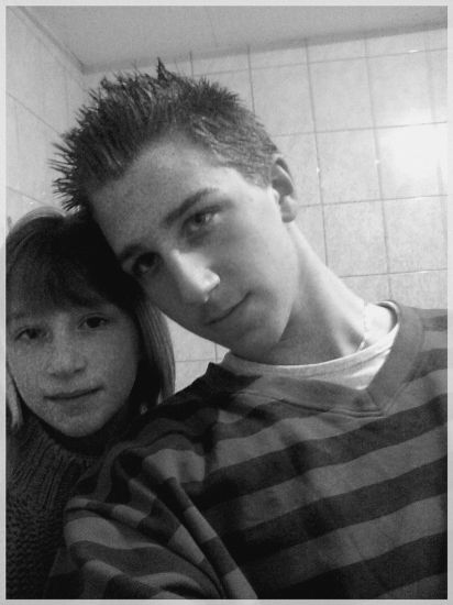 MY GRAND BROTHER AND ME ; )