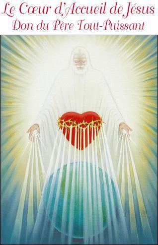 Coeur d'Accueil de Jésus, Don du Père Tout-Puissant