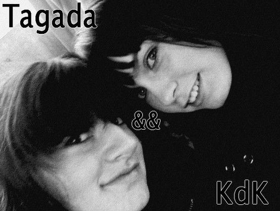 Que ferais une KdK sans sa Tagada ?   Laura ,, je t'aime <33