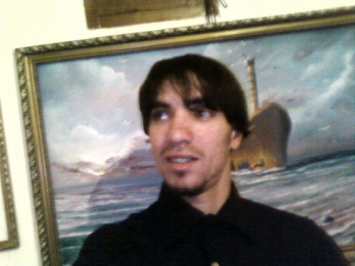 sé moi mohamed avec mon grand tablou de babour metrba