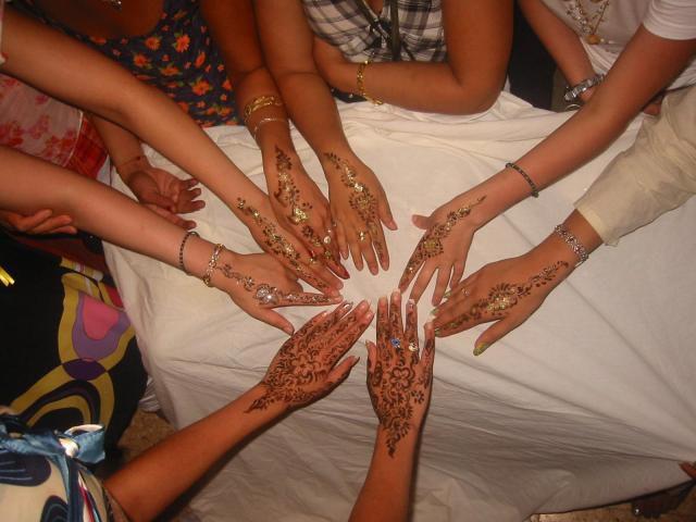 sé le henna dan le 3ers je le fait