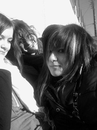Ma soeur, Elo, et moi