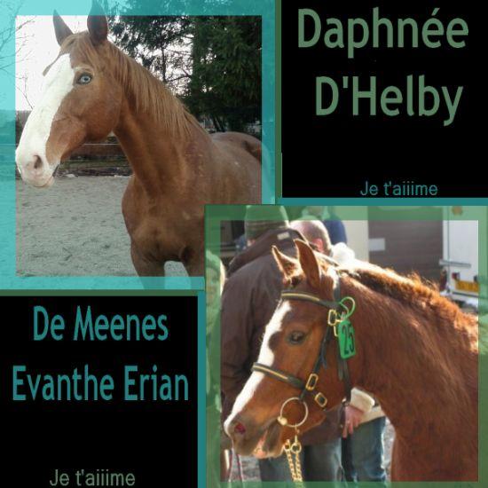 Mes 2 chériies,,Daphnée D'Helby && De Meenes Evanthe Erian .