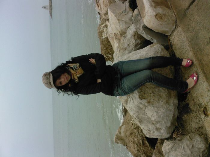 moi a la playa