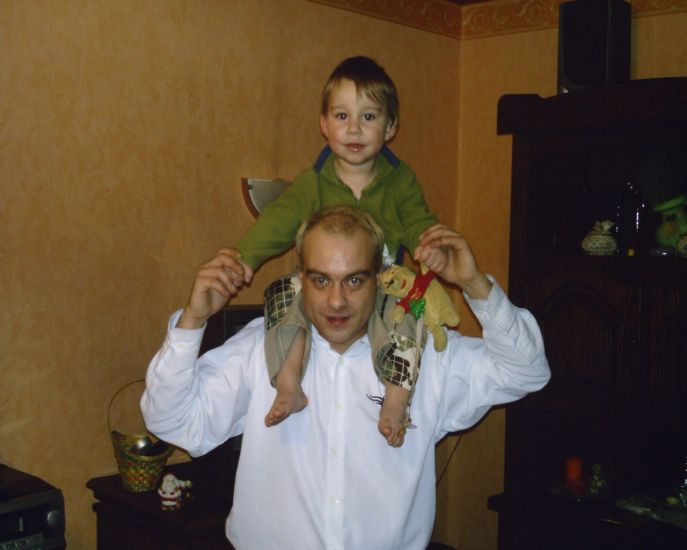 Bryan et papa