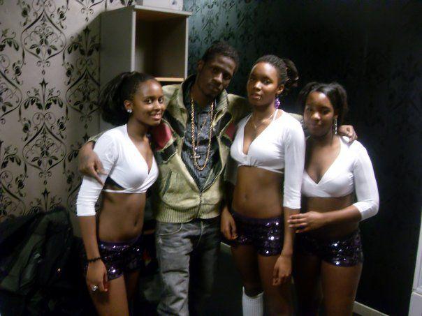 k-labo-k crew with aidonia (chanteur dancehall de jamaique)