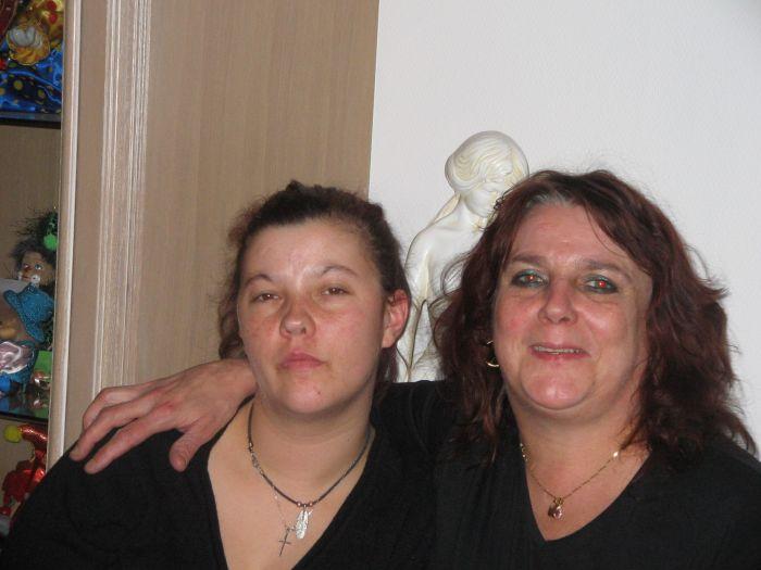 Ma mére et ma soeur Héléne je vous aimes