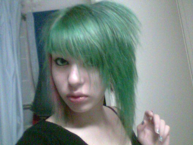Hey we c'est...vert ^w^