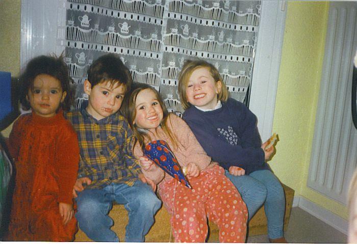 Lisa, Vivien, Moi & Justine