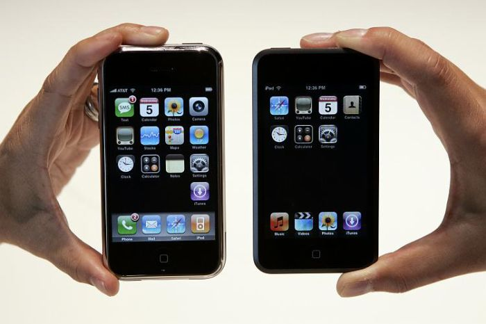Iphone et Ipodtouch