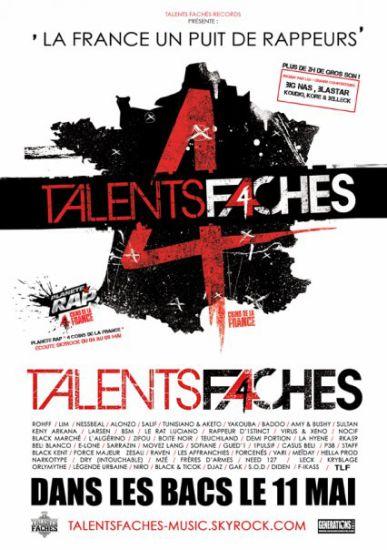Blak & Ticok sur talents fachés 4...