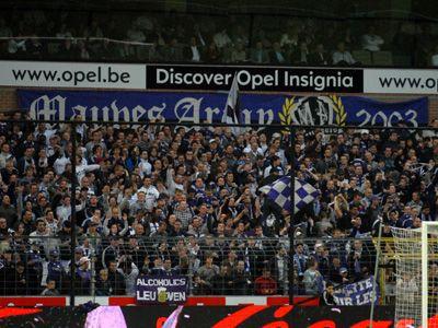 La groupe de supporters le plus chaud de Belgique !!!