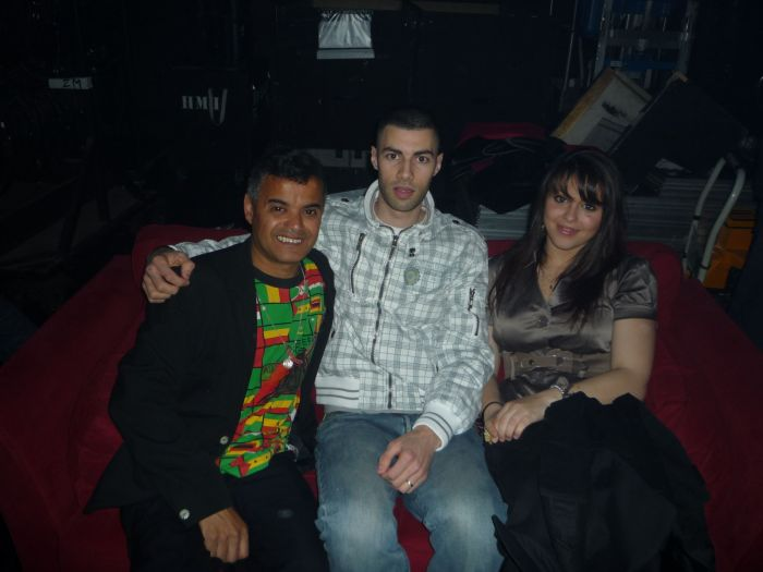 Sybille, Cheb Abdel & Jimmy Oihid