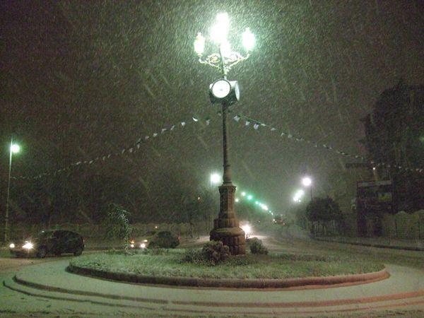 la neige aussi