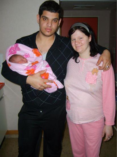 moi e ma femme et notre fille