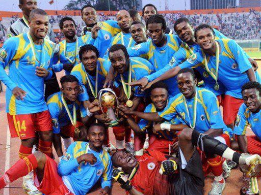 equipe nationale congolaise lors de la celebration