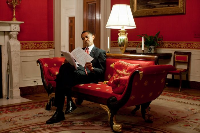 Barack obama a la maison blanche