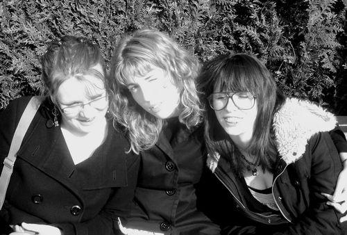 Mélie + Lulute + Me = <3 lol
