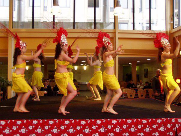 La danse tahitienne, Ma passion!Sarah, Manon,moi et Lauriane