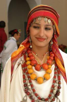 Jeune femme berbère