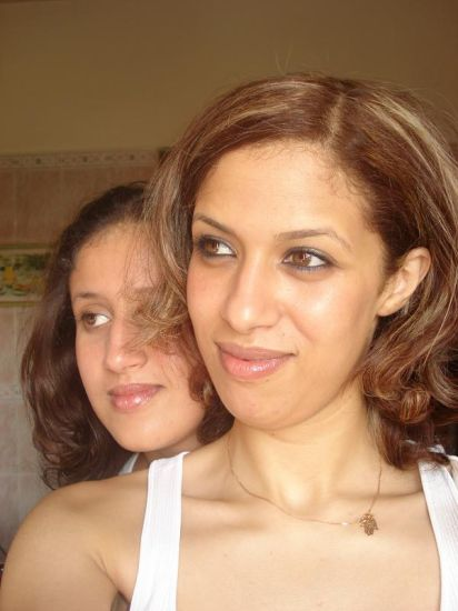 Aicha et Jamila,mes nièces