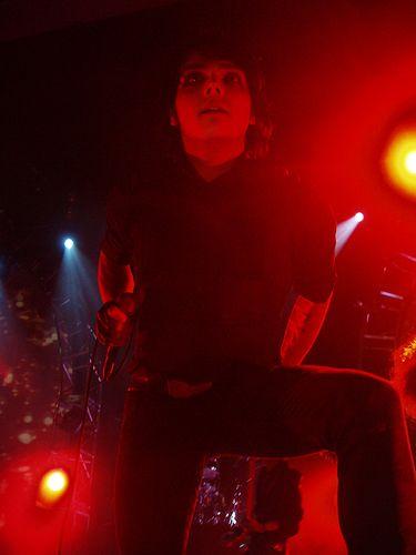 Gerard Way , chanteur de : My  Chemical Romance <3