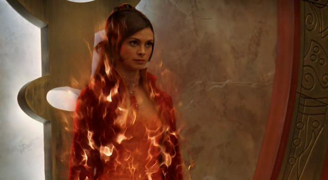 Morena Bacarin dans stargate the ark of the truth