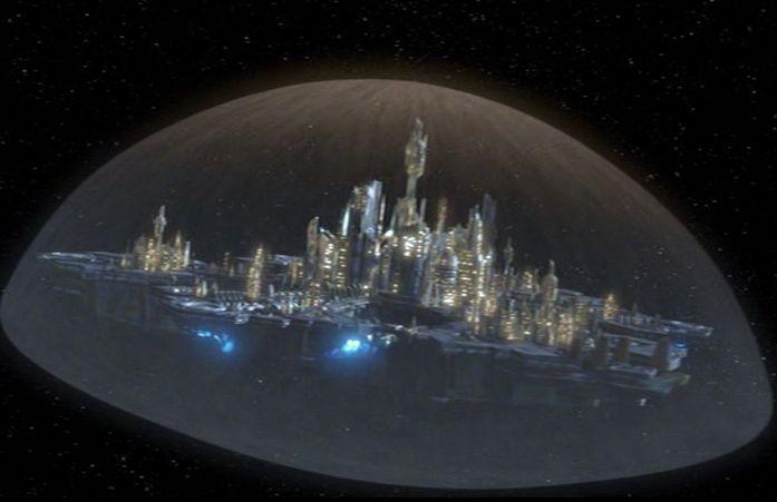 Atlantis dans l'espace