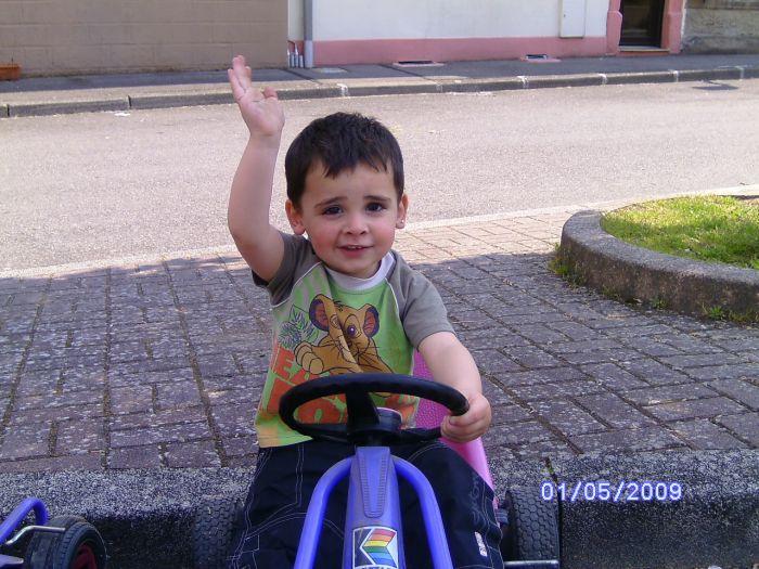Mon petit fils Dariano
