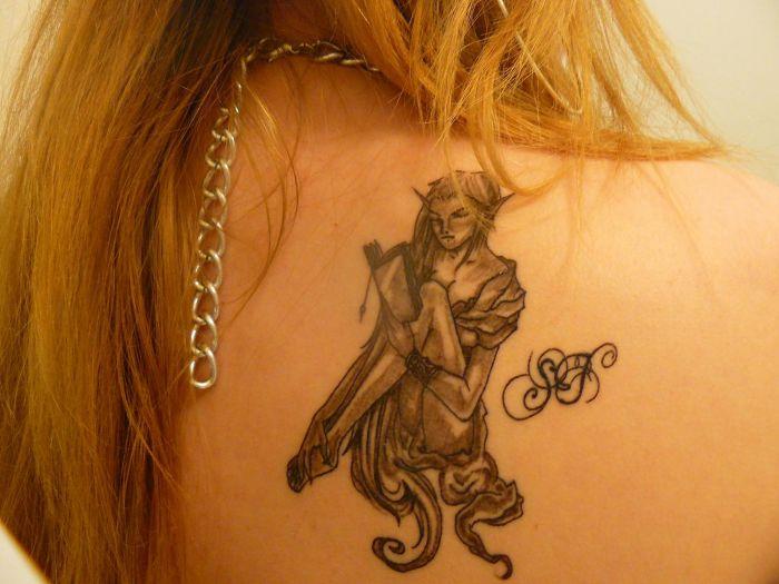Mon tatouage Rox. :D ♥