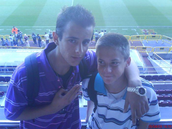 Roberto & Moi Camp Nou