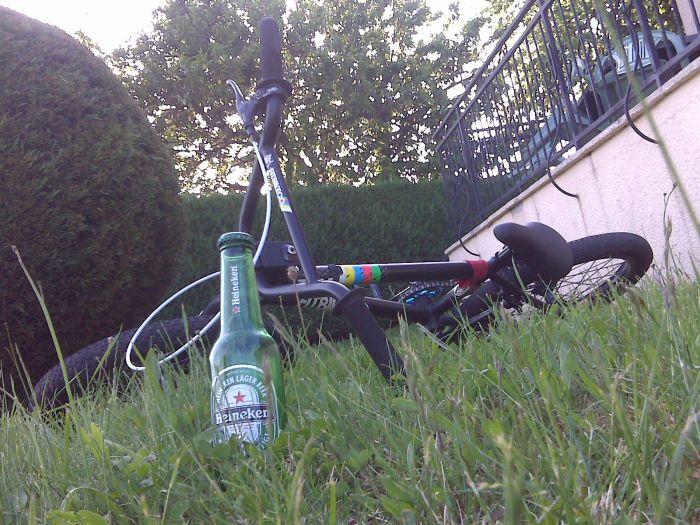 Bike Rudy avec une HK