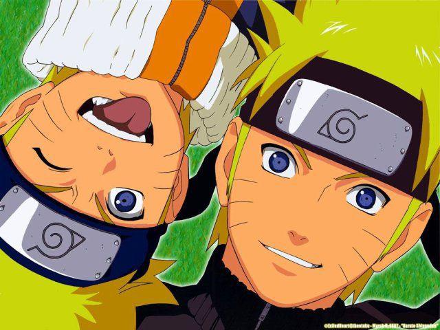 Naruto jeune et Naruto Shippuden