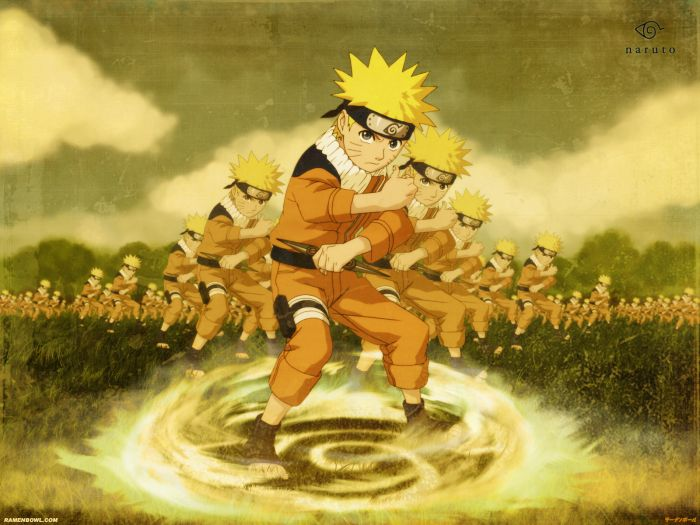 Naruto et sont multiclonnage
