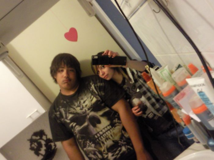 Hichem et moi ♥